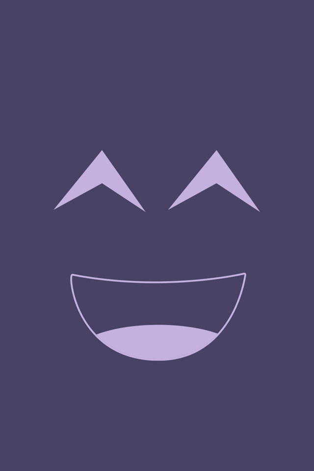 iPhone Smiley Face Wallpaper