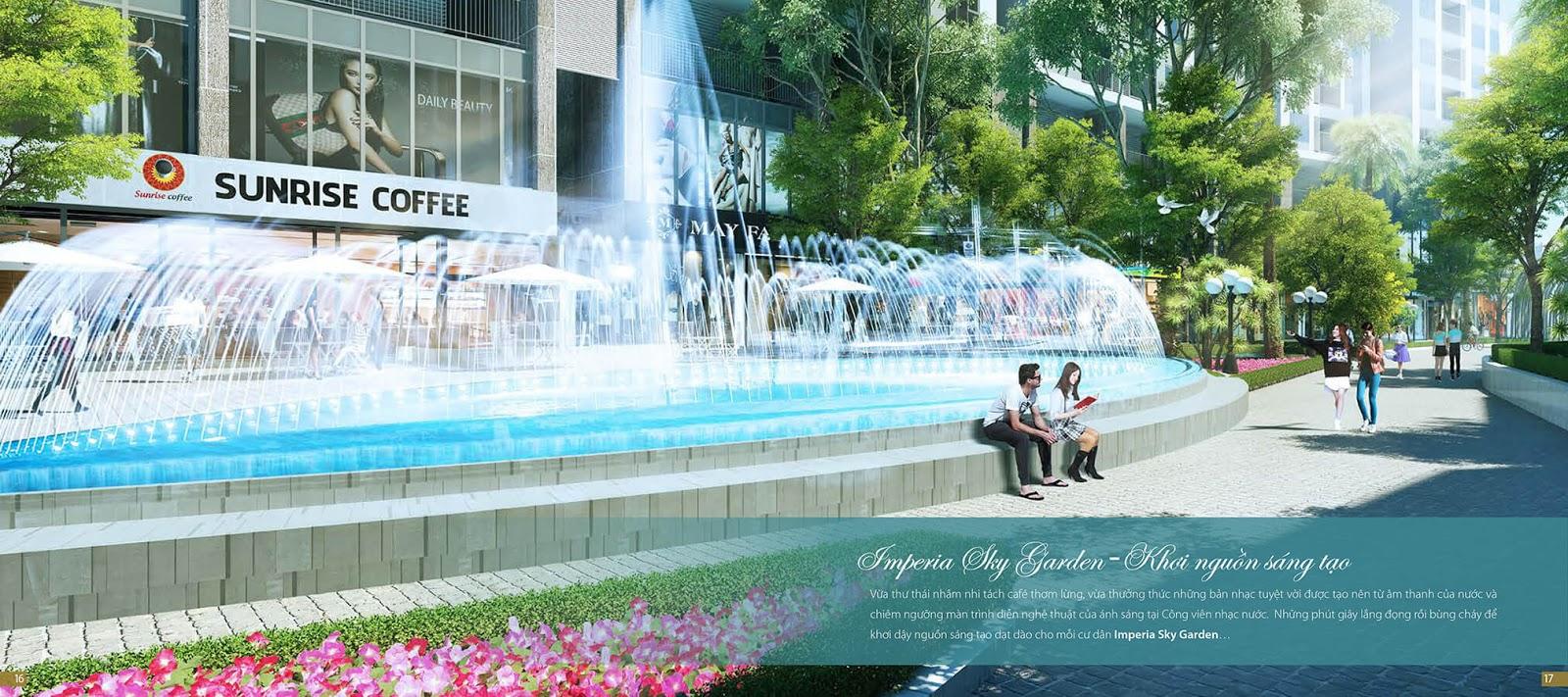 Tiện ích của dự án Imperia Sky Garden