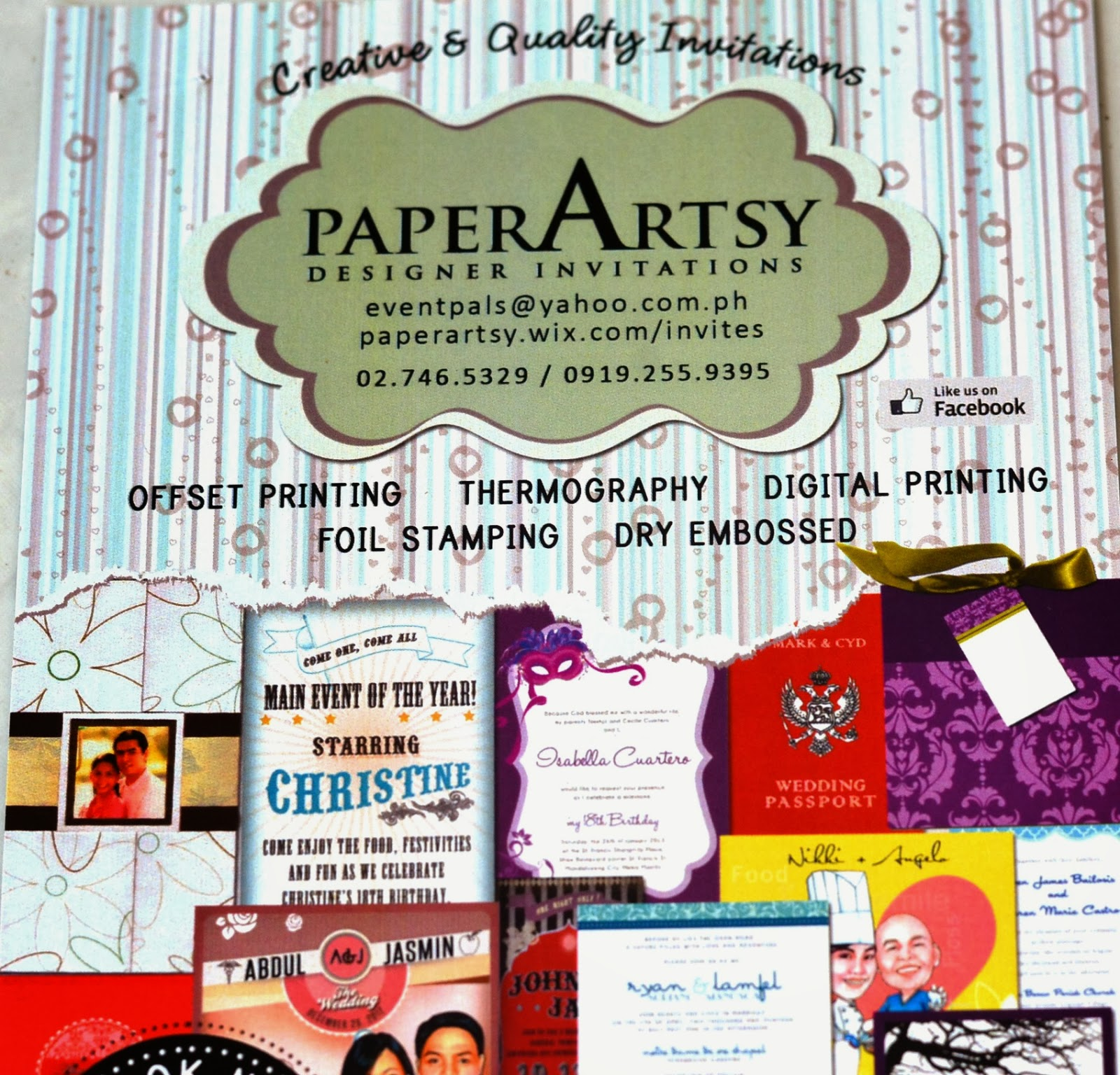 Debut Themes And Ideas: Debut Invitation Suppliers