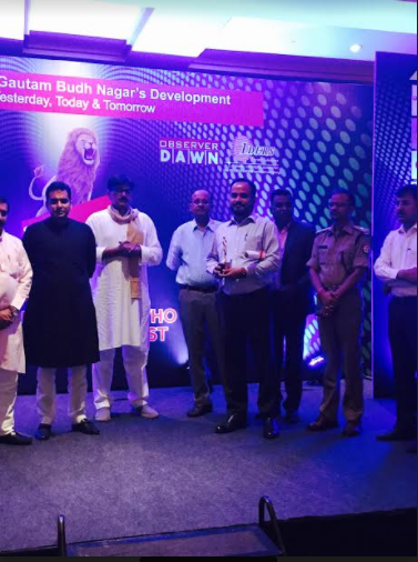 Eros Sampoornam Bags the Gautam Budh Nagar's Pride Awards 2017