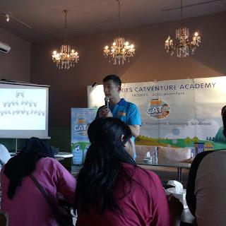 Pak Andrew Sharing Mengenai Community Branding #500Catventure