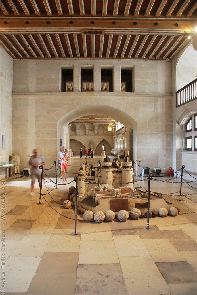 ornamentsnijder patrick damiaens een bezoek aan het kasteel van compi gne pierrefonds. Black Bedroom Furniture Sets. Home Design Ideas