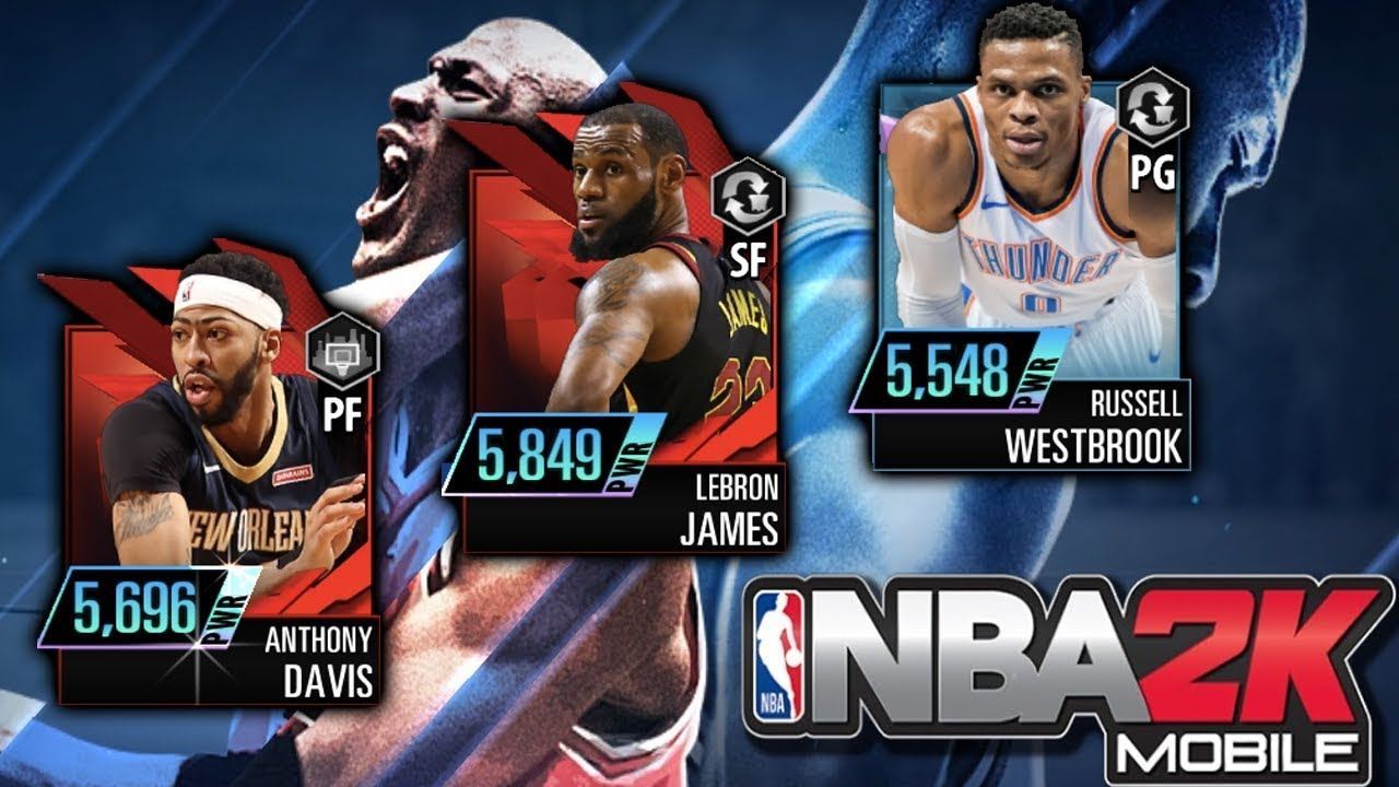 nba 2k mobile now