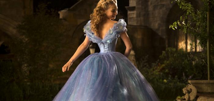 Lily James în Cinderella