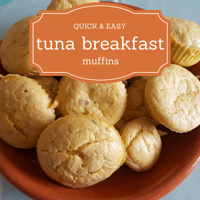 Tuna breakfast muffins