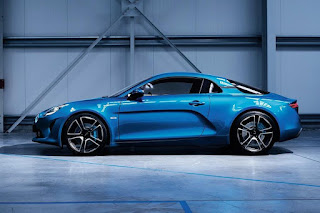 Alpine A110 (2018) Side