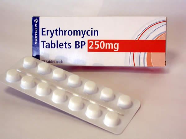 سعر ودواعى إستعمال أقراص أريثرومايسين Erythromycin مضاد حيوى