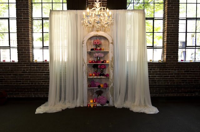 These Indoor Ceremony Backdrops Will Make You Pray For: Meant2be Events: Statement Piece Backdrops For Your Big Day