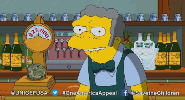 Moe de Los Simpsons, donará 25K dólares a Puerto Rico