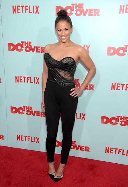 Actress, @ Paula Patton - Netflix's 'The Do Over' Premiere in LA