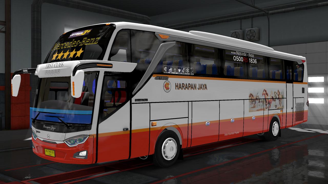 Livery Harapan Jaya Jetbus 3 For Jetbus Shd Pack Ojepeje
