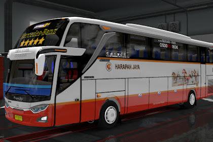 Livery Harapan Jaya Jetbus 3+ For Jetbus SHD Pack Ojepeje