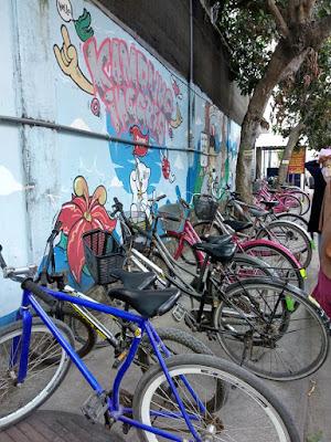 Sepedaan di Pare