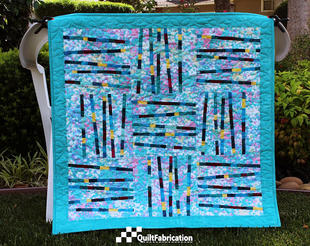 Pixie Sticks Quilt full on