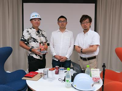佐渡島庸平さん、鈴木みそさん、まつもとあつしさん
