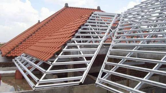 jual baja ringan kencana intan metalindo rangka atap harga