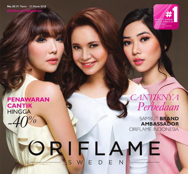 Katalog ORIFLAME Promo ORIFLAME Terbaru Edisi MARET 2018