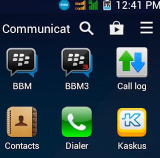 Cara Terbaru Install Dua Akun BBM Pada Handphone Android Tanpa Root