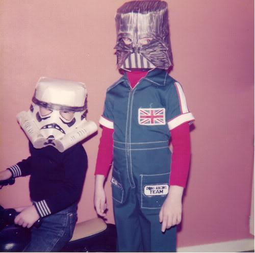 Creepy Amp Cool Retro Halloween Of Kid Costumes Vintage