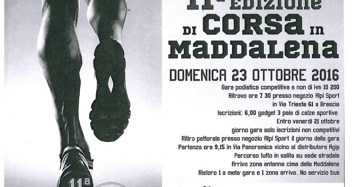 """Torna """"Di Corsa in Maddalena"""" e parte la prima """"Crono della Leonessa con Sonny Colbrelli"""". Domenica 23 ottobre a Brescia"""
