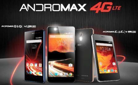 Ponsel Android dari Smarftren 4G LTE