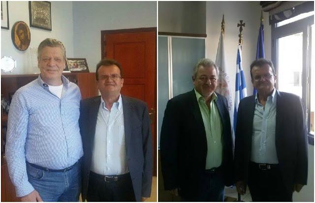 Θεσπρωτία: Συνάντηση του Προέδρου της Πανηπειρωτικής με τον Αντιπεριφερειάρχη Θεσπρωτίας και το Δήμαρχο Ηγουμενίτσας