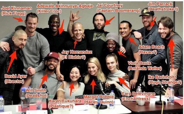 Todos los protagonistas de Suicide Squad