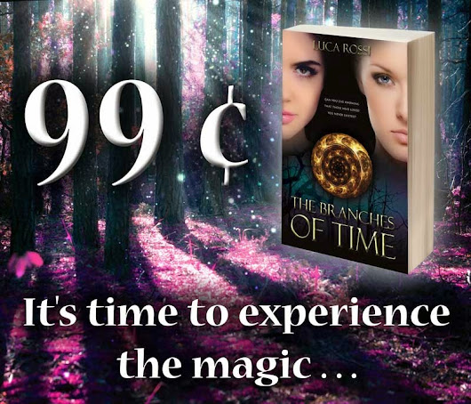The Branches of Time featured on Bookbub