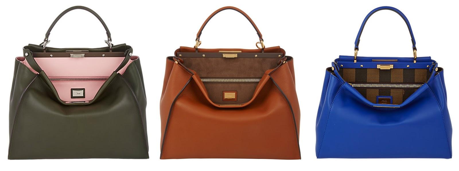 8665cae62537 Would You Carry That Bag  Fendi Peekaboo Bag