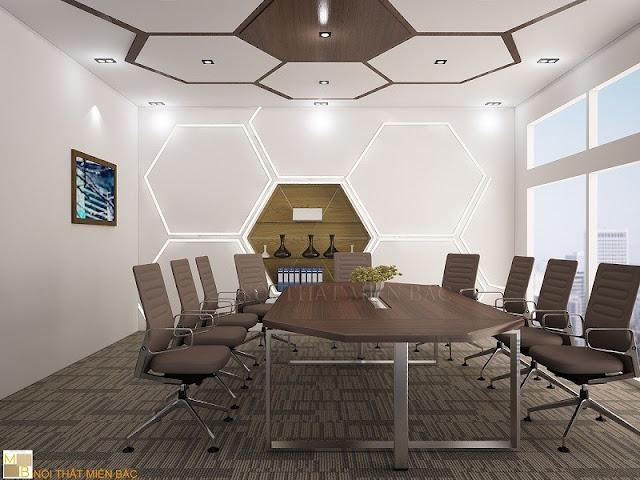 Đến với miền bắc bạn có thể lựa chọn những mẫu bàn phòng họp hình tròn, chân sắt, kiểu dáng đơn giản, màu sắc trang nhã