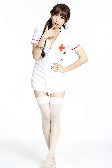 Lee Eun Hye 이은혜 In Sexy Nurse Outfits