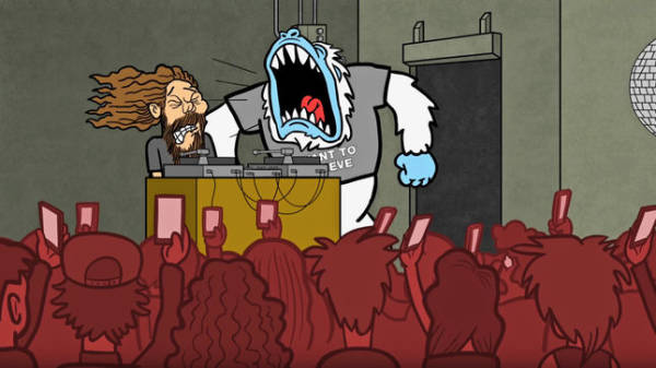 "RED FANG: Animated video για το κομμάτι ""Not For You"""