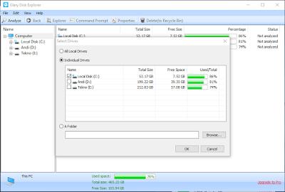 Cara Cek File yang Membuat Harddisk Penuh dengan Mudah