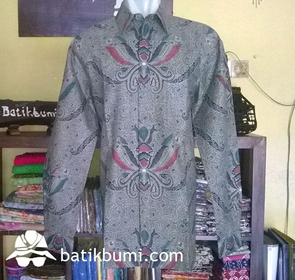 Kemeja Batik Lawasan Pisang Bali