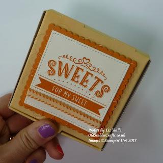Mini Pizza Box gift wrap idea