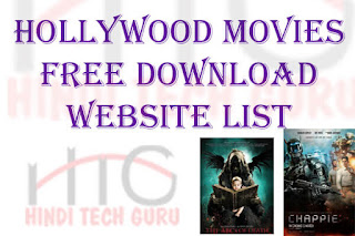 Hollywood Movies Free Download Website List