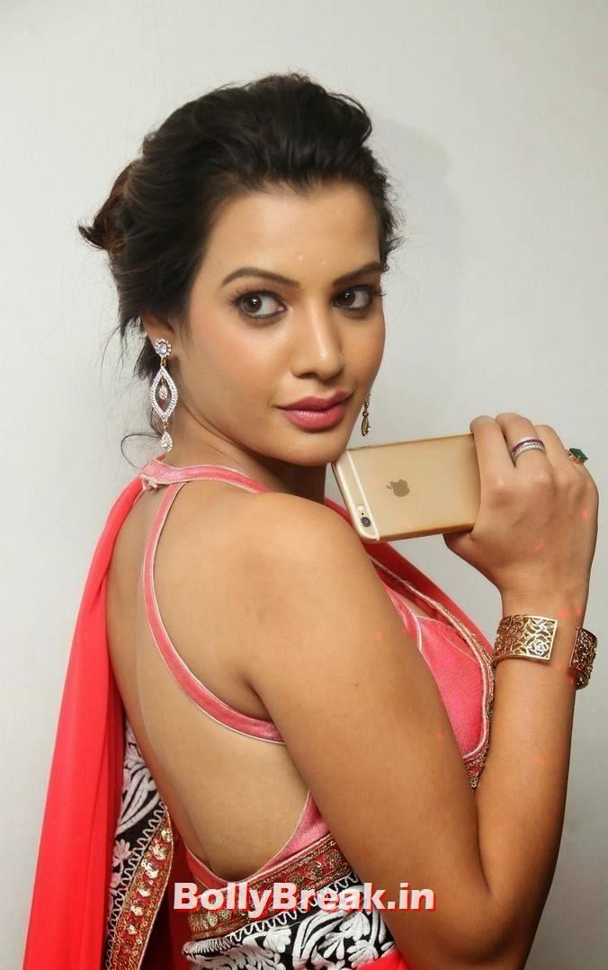 , Tamil Actress hot Photos in Backless Blouse Saree