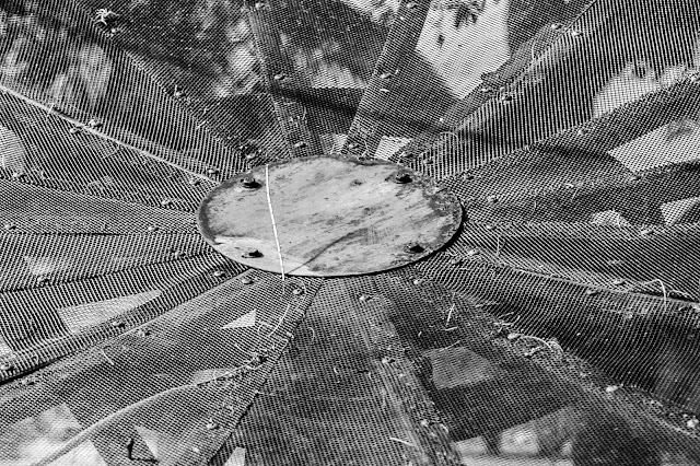 Satellite photo by James L Gass IV