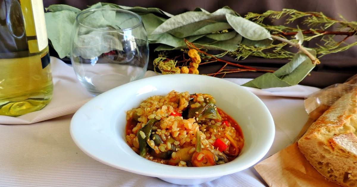 Cocinando con las chachas arroz integral con verduritas for Cocinar con cookeo