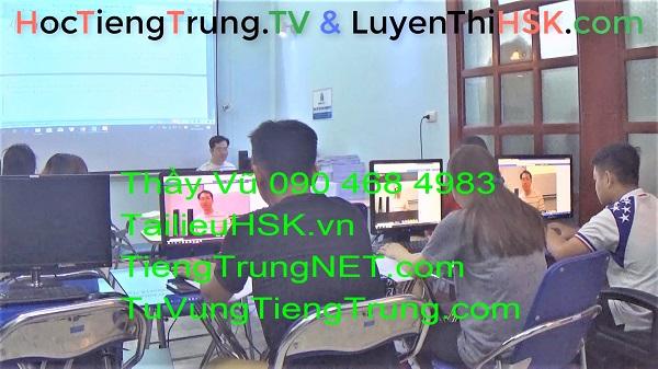 Lớp học tiếng Trung ở Hà Nội Bài 24