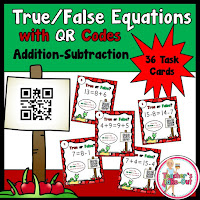 True False Equations Apple Theme QR Codes