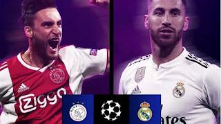 اون لاين مشاهدة مباراة ريال مدريد وأياكس أمستردام بث مباشر 5-3-2019 دوري ابطال اوروبا اليوم بدون تقطيع