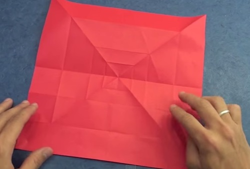 Cách gấp trái tim giấy với đôi cánh ác quỷ p2