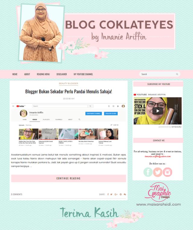 blog comel dan elegan