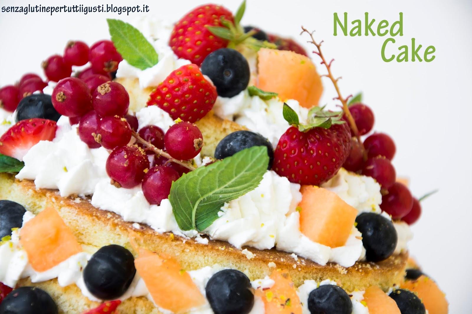 Ricetta Naked cake con crema al cioccolato e lamponi | Dolcidee