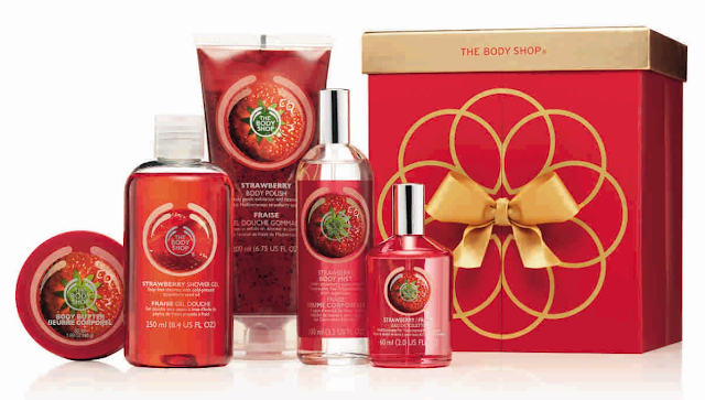 The Body Shop_Strawberry Beauty Collection, Rs 4565