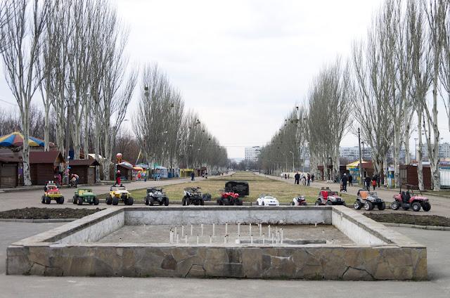 """фонтан у парку """"Перемога"""""""