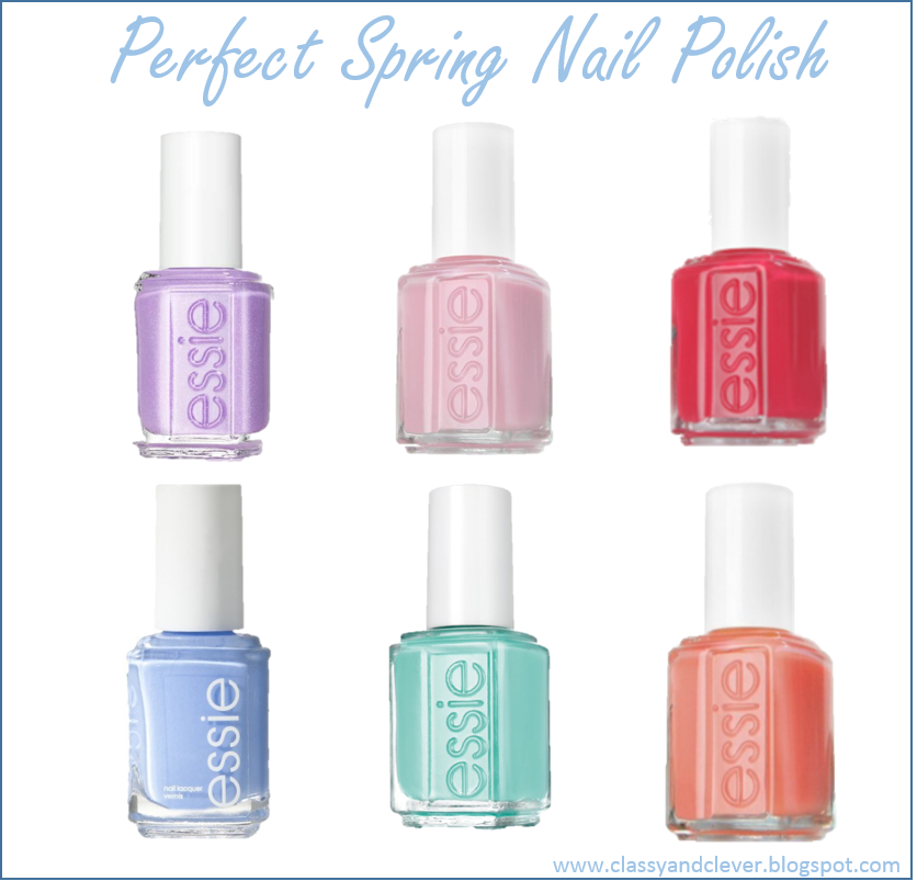 Classy & Clever: Spring Nail Polish Colors