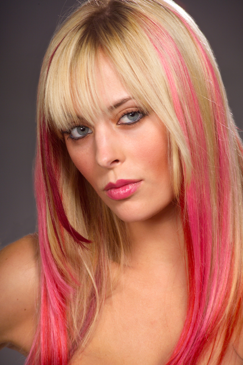 All About Fashion Collection: Colored Hairstyles