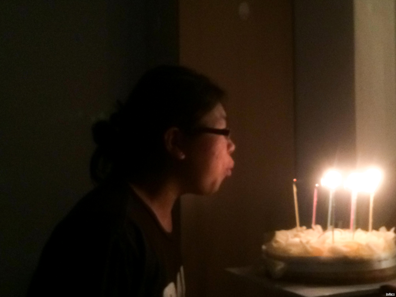 Seoul, Korea - Summer Study Abroad 2014 - Surprise birthday celebration